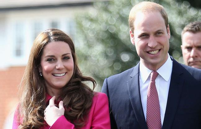 Le prince William et son épouse Kate