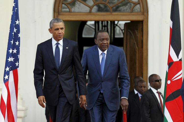 Barack Obama, Uhuru Kenyatta
