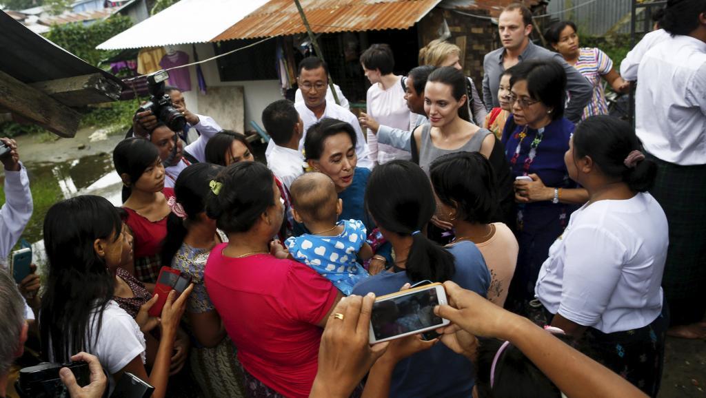 Angelina Jolie et Aung San Suu Kyi