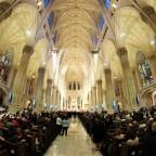La cathédrale St Patrick à Manhattan