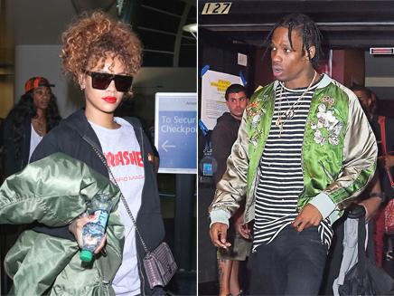 Rihanna et Travis Scott | @ abaca