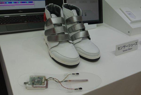 Des chaussures connectées