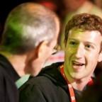 Steve jobs et Mark Zuckerberg | mac4ever.com