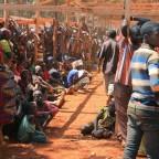 Des familles de burundais