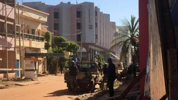 Les forces de police maliennes