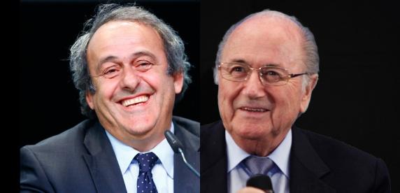 Michel Platini et Sepp Blatter | huffingtonpost.fr