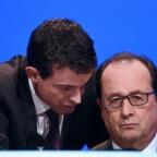 Manuel Valls et François Hollande