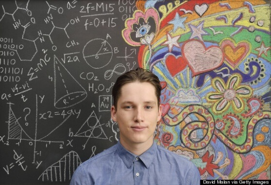 Portrait in front of doodles | Getty images