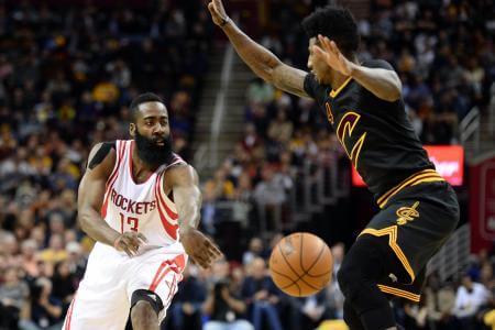 Cleveland surpris par Houston, Batum voit triple