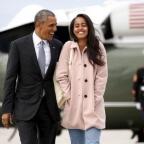 Barack Obama et Malia