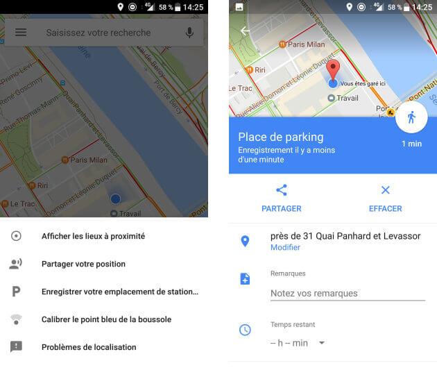 google parking | AFP