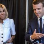 Brigitte Macron et Emmanuel Macron | leparisien.fr