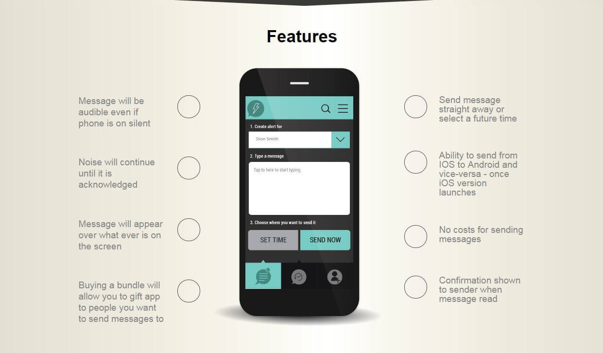 App Mobile features / Capture/ReplyASAP