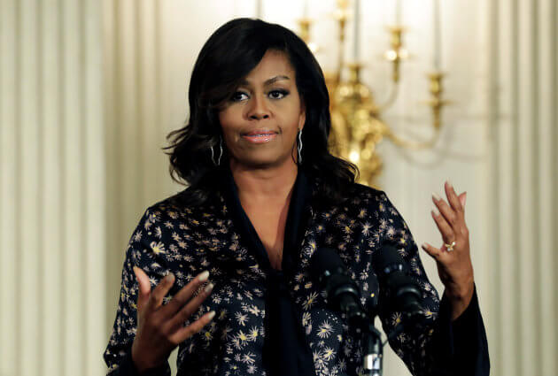michelle obama yuri gripas reuters. Black Bedroom Furniture Sets. Home Design Ideas