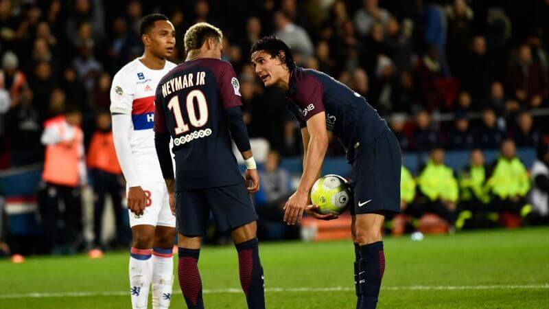 Cavani et Neymar  (PSG)Getty Images