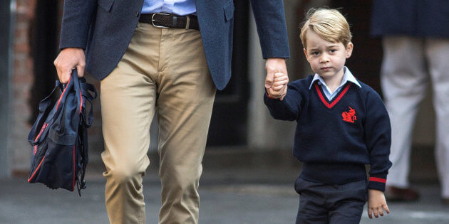 Prince William et Prince George / POOL New / Reuters