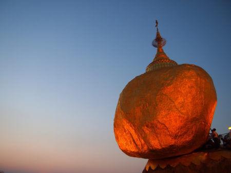 Le Rocher d'Or en Birmanie