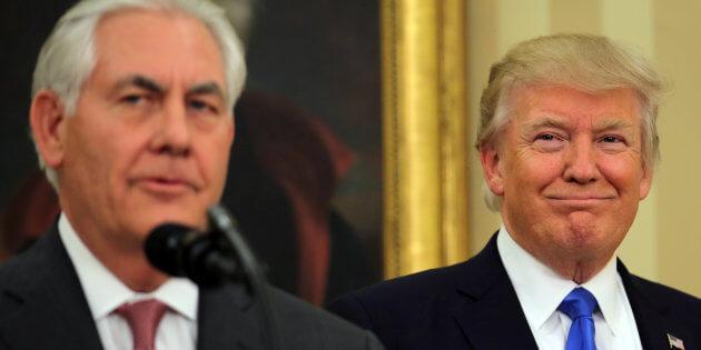 Donald Trump et  Rex Tillerson