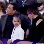 Blue Ivy, Beyoncé et Jay-Z