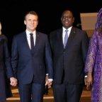 Couples présidentielle Francais et Sénégalais