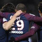 Neymar, Cavani et Mbappé