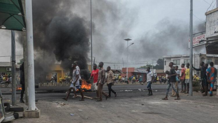 Les manifestations et la tension au Bénin
