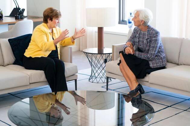 Kristalina Georgieva et Christine Lagarde